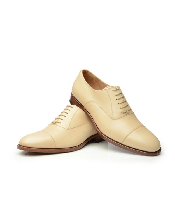 Cream Oxford Shoes