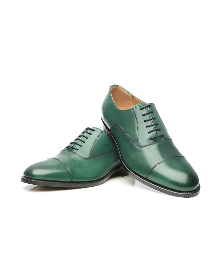 Green Oxford Shoes