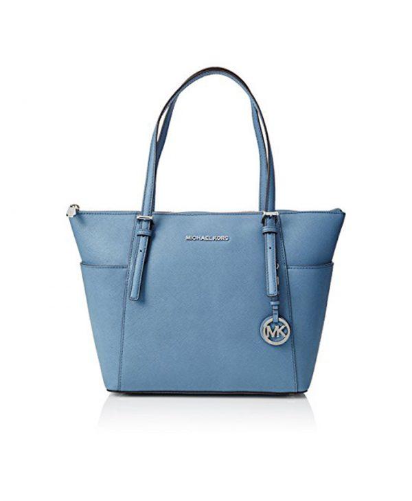 Handbag Greyish Sky Blue