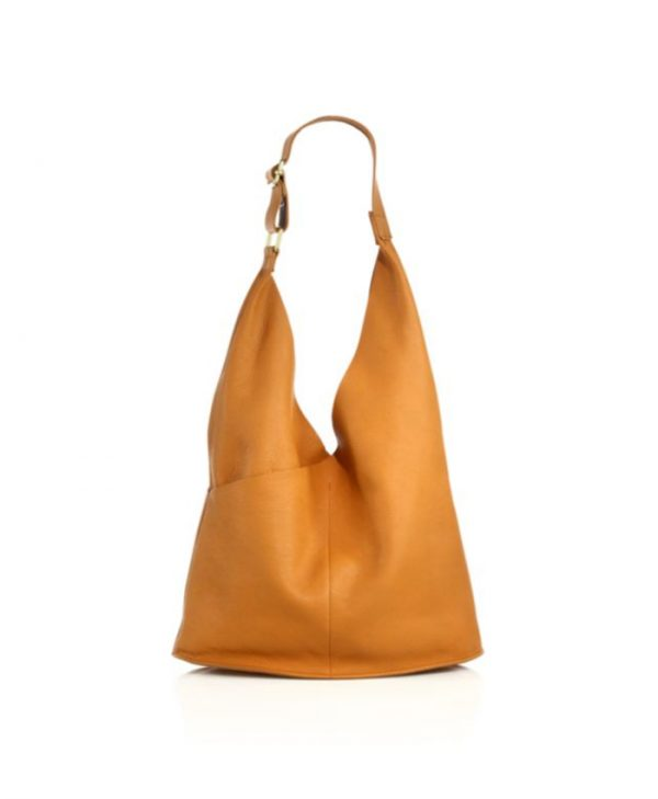 brown shopper bag,