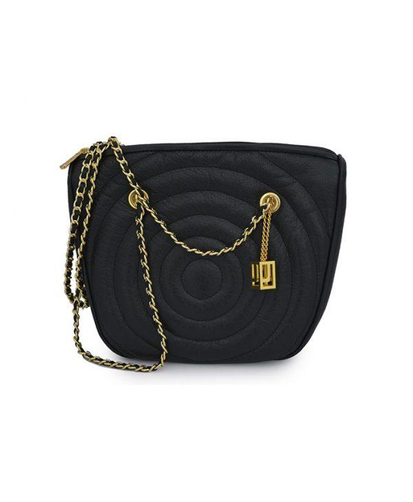 Handbag Round Black