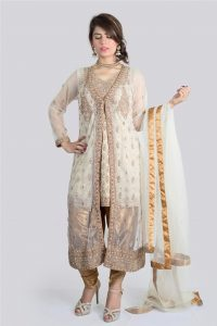 Hoor ul Ains Hand Embroidered Party Dresses