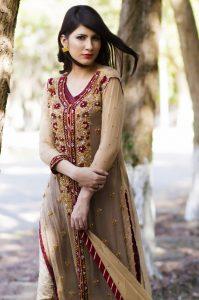 Fone Color Bridal Dress