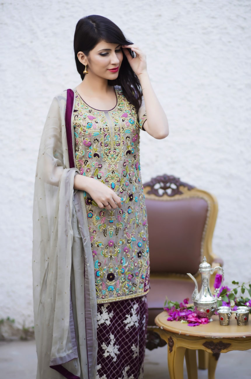 eaeb83d45dc27 Party Wear Dresses 2018 Pakistani
