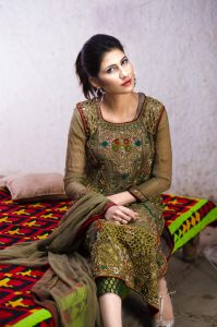 Mehndi dress pakistani