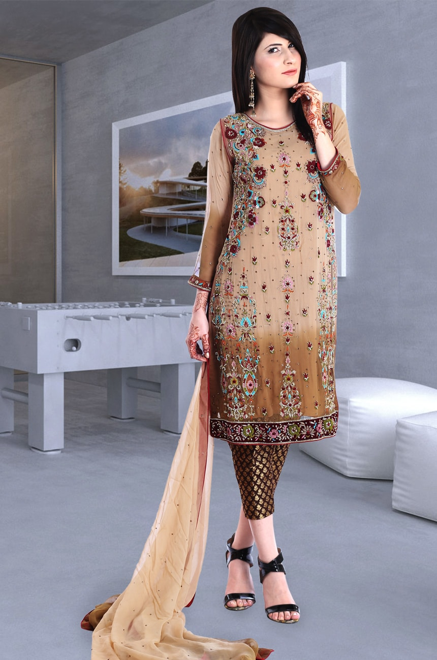 Hand Embroidery Dress