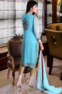 Sky Blue dress for wedding