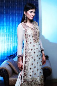 white indian dress wedding