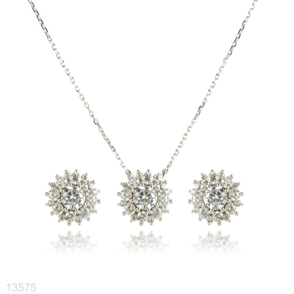 zircon jewelry set