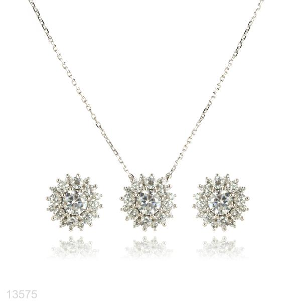 zircon jewelry set