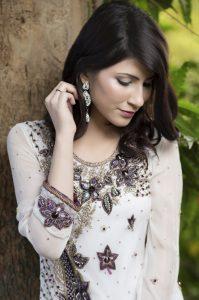 pakistani designer dresses in white colour,