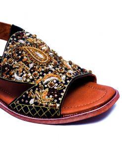 Antique Gold Sandal