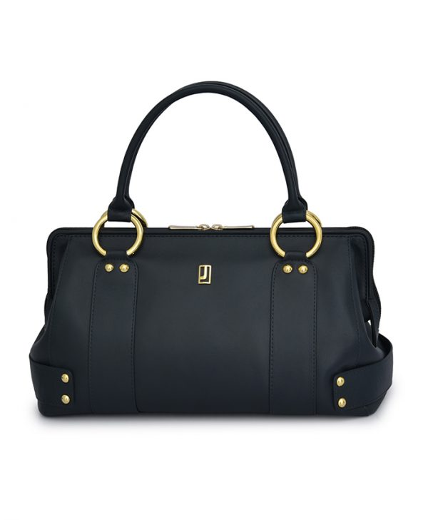 H Dark Blue Handbag