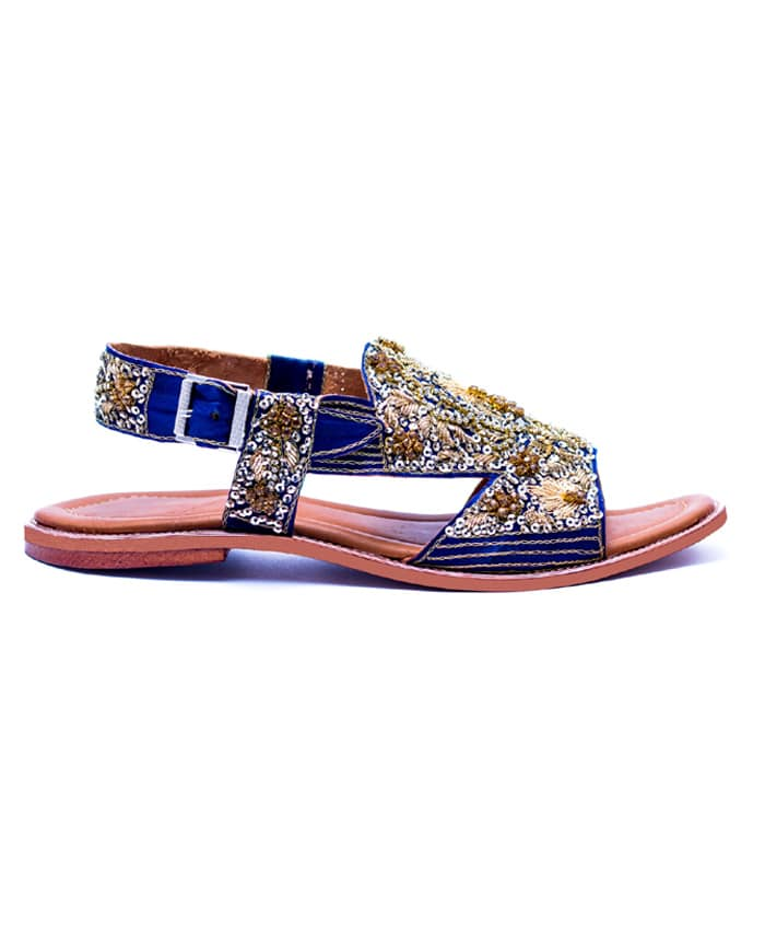 Navy Blue sandal