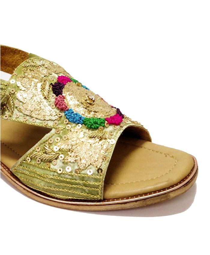Green Sandal